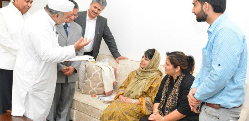 सेव शारदा कमेटी ने शारदा शक्ति पीठ पर महबूबा के बयान का किया स्वागत