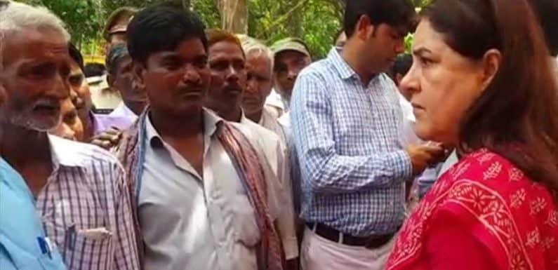 गन्ना फसल से सम्बंधित केंद्रीय मंत्री मेनका गांधी के बयान पर फूटे विरोधी स्वर
