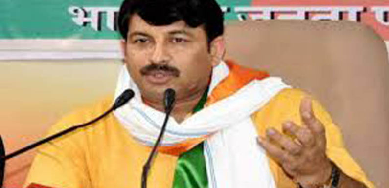 अरविंद केजरीवाल ने किया 800 करोड़ का घोटाला, भाजपा CBI जांच की मांग करती है-तिवारी