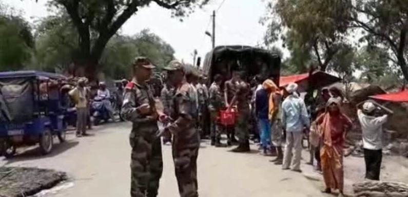 फैजाबाद में भीषण अग्निकांड, 52 आशियानें जलकर हुए राख