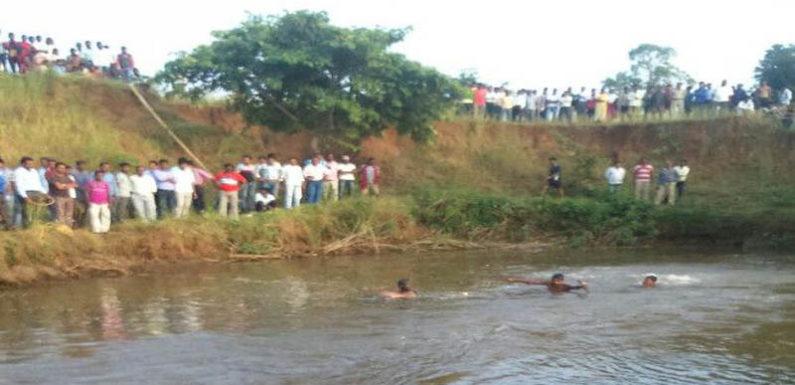 गोण्डा में शासन प्रशासन के दावे हुए हवाई साबित, ग्रामीणों को सता रहा बाढ़ का डर