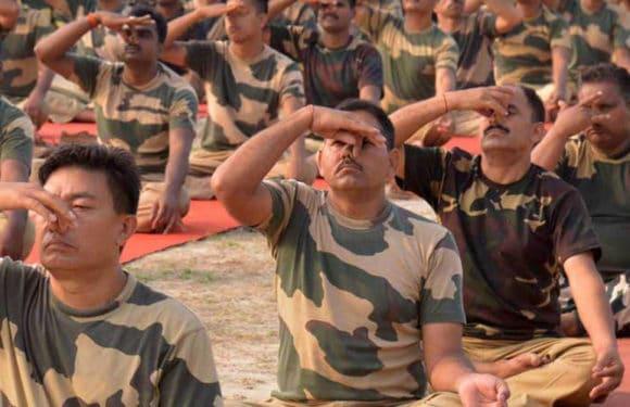 पतंजलि योगपीठ तथा ईशा फाउंडेशन के योग प्रशिक्षकों के साथ सुरक्षा बल के जवान करेंगे योग