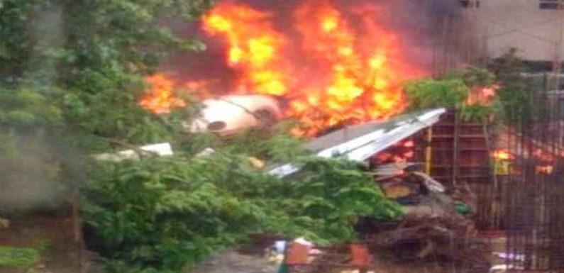 योगी सरकार का चार्टेड प्लेन मुंबई में हुआ धाराशायी, पायलट सहित 5 की मौत