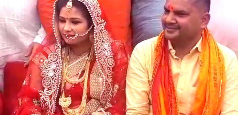 खब्बू तिवारी का संकल्प हुआ पूरा, 47 की उम्र में बीजेपी विधायक ने रचाई शादी