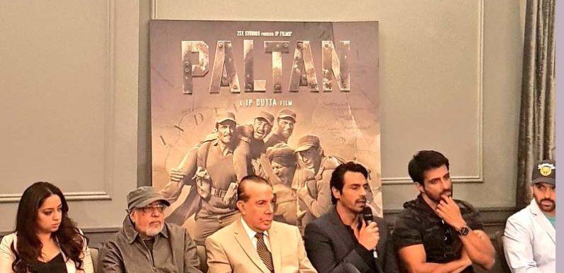 """12 साल बाद """"पलटन"""" के साथ लौट रहे जे.पी दत्ता,7 सितंबर, 2018 को होगी रिलीज"""