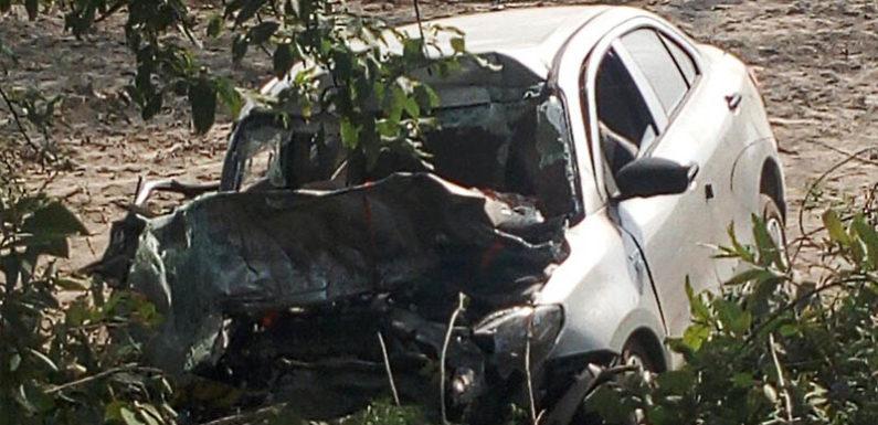 गोंडा : सड़क हादसे में एक ही परिवार के पांच लोंगों की दर्दनाक मौत