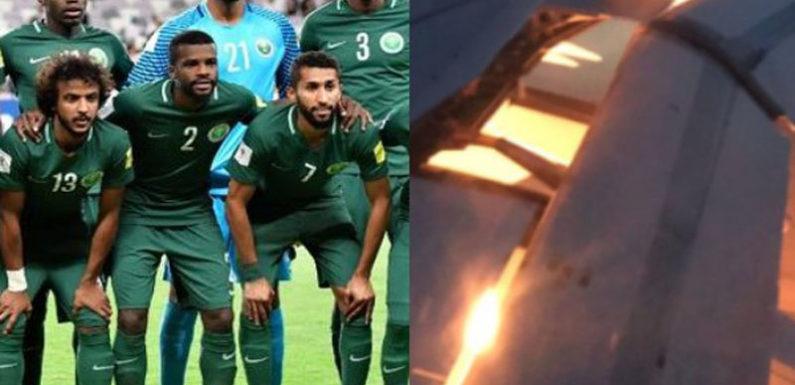 फीफा वर्ल्ड कप 2018- बाल-बाल बचे सऊदी अरब फुटबॉल टीम की खिलाड़ी