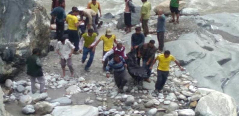 उर्गम घाटी सड़क दुर्घटना में लापता शव बरामद