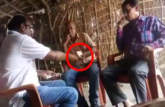 NGT के 212 करोड़ का जुर्माना लगाने के बाद भी गोण्डा में अवैध खनन, रिश्वत लेते लेखपाल का वीडियो हुआ वायरल