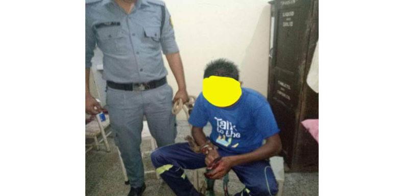 अाली कांडई में हुई हत्या के अभियुक्त को थानाध्यक्ष पोखरी ने किया चंद घंटों गिरफ्तार
