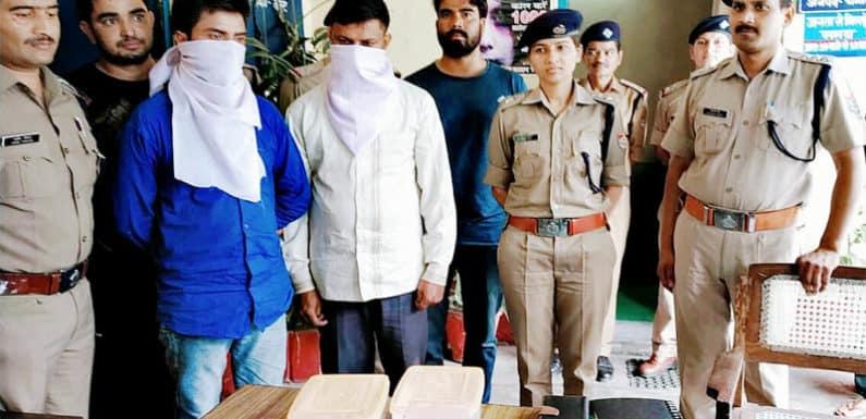 6 लाख 4 हजार के नकली नोटों के साथ चमोली पुलिस ने दो जालसाजों को दबोचा