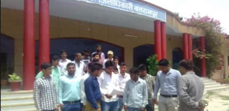 शासनादेश के विरोध में बेरोजगार बीटीसी प्रशिक्षुओ ने खोला मोर्चा
