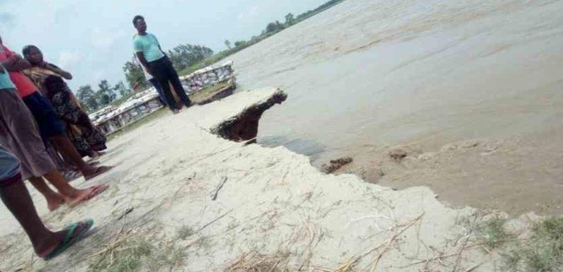 बाढ़ आपदा से निपटने के लिए खीरी समेत 7 जिलों का मॉकड्रिल