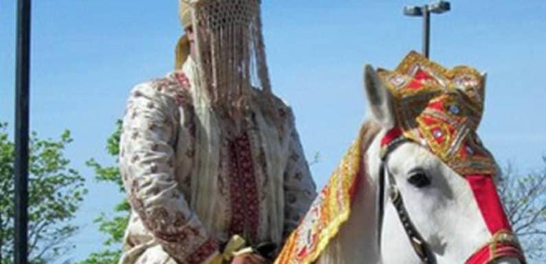 कासगंज- 80 साल बाद घोड़ी चढ़ा दूल्हा, 150 पुलिसकर्मी हुए शामिल