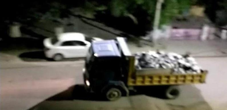 योगी सरकार की लाख कोशिशों के बाद भी धडल्ले से हो रहा सोनभद्र जिले में अवैध खनन