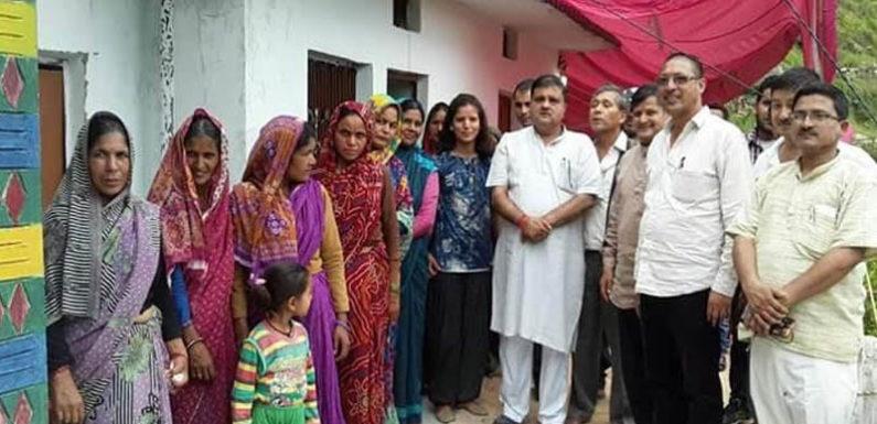 बद्रीनाथ विधायक का क्षेत्र भ्रमण, बोले समस्याओं का निस्तारण मेरी प्राथमिकता