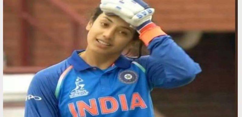 भारतीय महिला बल्लेबाज़ स्मृति मंडन का 22वाँ बर्थडे सोशल मीडिया पर शेयर की फोटो