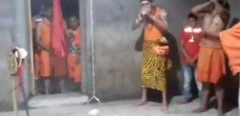 लालू यादव के बेटे तेज प्रताप शिव के अवतार में पहुंचे देवघर, वीडियो वायरल