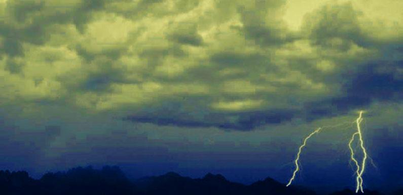 सोनभद्र : आकाशीय बिजली से दो की मौत तीन झुलसे