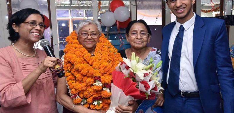 हर्षोल्लास से मनाया गया सी.एम.एस.संस्थापिका डा. भारती गाँधी का जन्मदिन