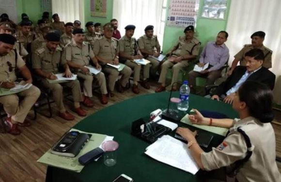 चमोली पुलिस अधीक्षक ने थाना चौकी प्रभारियों को दिये कड़े निर्देश