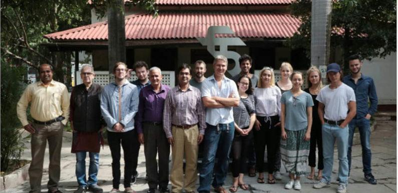 'भारतीय सिनेमा' से परिचय के लिए एफटीआईआई आए जर्मन छात्र