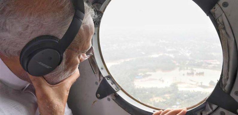 केरल का दौरा कर प्रधानमंत्री मोदी ने राहत कार्यों में तेजी के दिए निर्देश