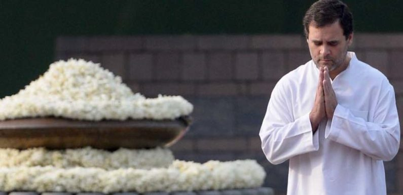 राजीव गांधी जयंती पर, राहुल, सोनिया, प्रणव दा तथा पीएम मोदी ने दी श्रद्धांजलि