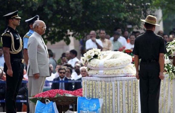 अटलजी भारतीय राजनीति के सच्चे नवचेतना पुरुष थे-राष्ट्रपति रामनाथ कोविंद