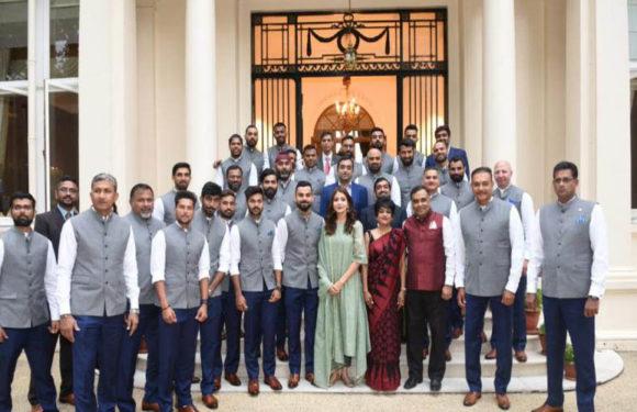 उच्चायुक्त की दावत में पहुंची अनुष्का शर्मा के बचाव पर बीसीसीआई ने दिया ये जवाब