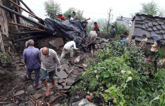 चमोली के सुनाली में आफत की बारिश कई गाँव भूस्खलन के चपेट में