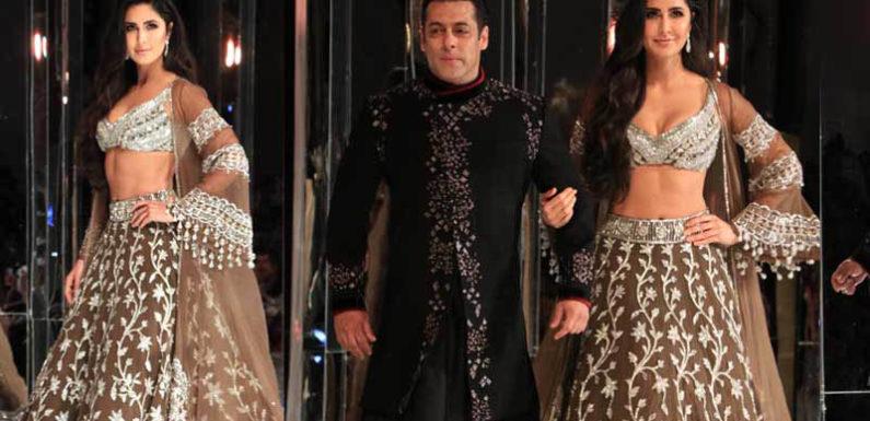 मनीष मल्होत्रा के शो पर शो-स्टोपर बने सलमान खान औऱ कैटरीना कैफ, देखिए वीडियो