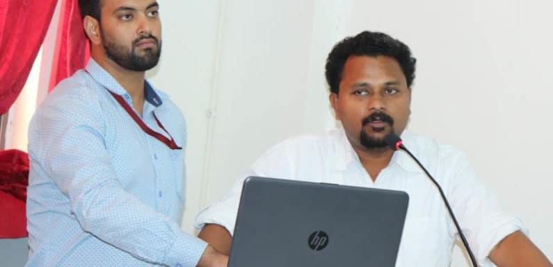 सुभारती के पत्रकारिता महाविद्यालय में हिंदी दिवस का हुआ आयोजन