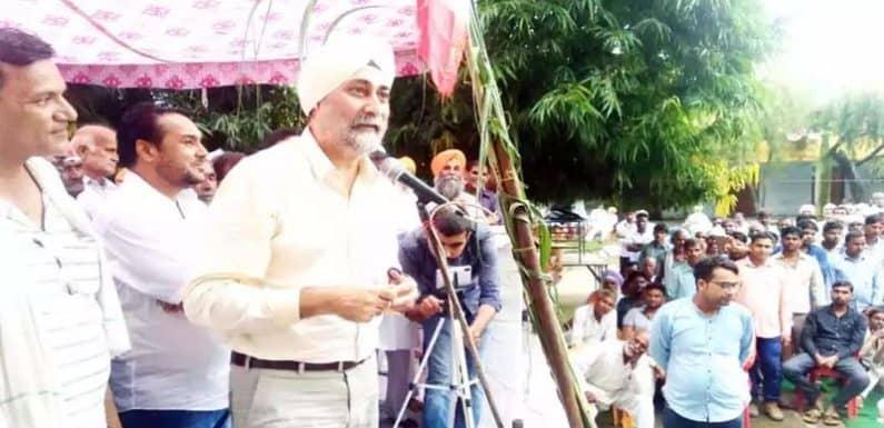 किसानों की महापंचायत में वीएम सिंह ने बीजेपी सरकार पर लगाये कई आरोप