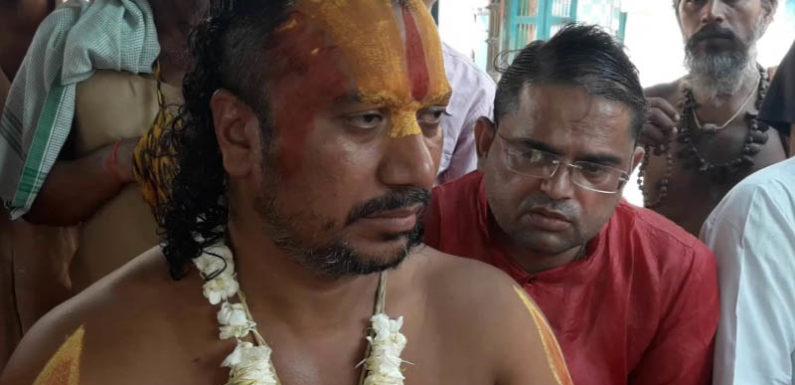 आमरण अनशन केवल प्रसिद्धि पाने के लिए है: महंत सुरेश दास