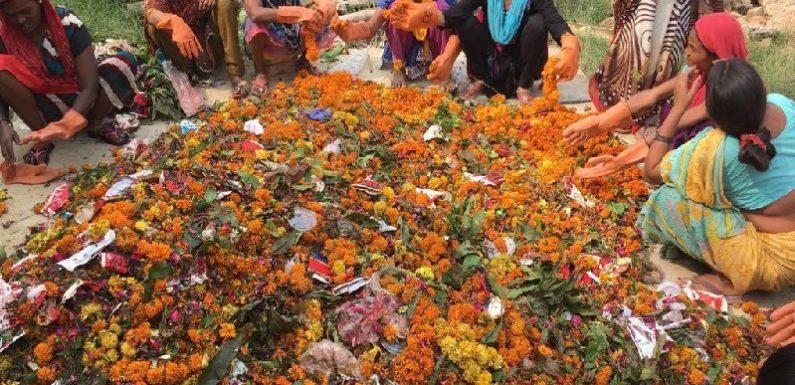 अयोध्या के मंदिरों में चढ़ाये जाने वाले फूलों का अपमान नहीं होगा