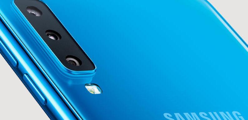 सैमसंग ने लॉंच किया अपना ट्रिपल कैमरा स्मार्टफ़ोन
