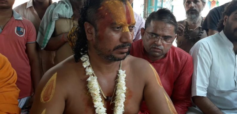 राम मंदिर के लिए अनशन कर रहे संत का वजन हुआ 15 किलो कम