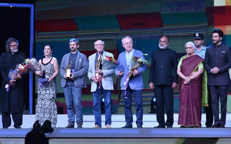 भारतीय अंतर्राष्ट्रीय फिल्म समारोह 2018 का समापन