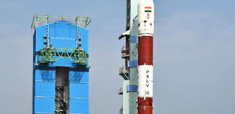पीएसएलवी-सी43 ने किया एक स्वदेशी और 30 विदेशी उपग्रहों का सफल प्रक्षेपण