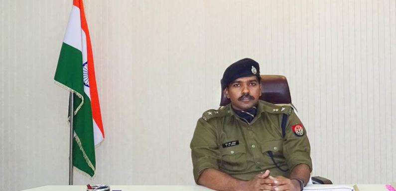 नवागत पुलिस अधीक्षक एल0आर0 कुमार ने सम्भाली सीतापुर की कमान