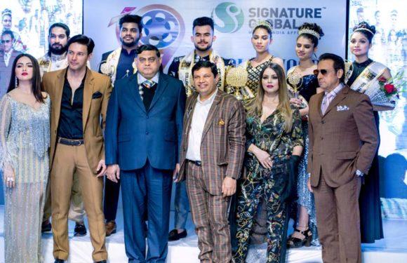 दिल्ली में चुने गए बॉलीवुड मिस्टर एंड मिस इंडिया 2018