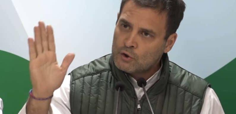 राहुल के तीखे तेवर, सियासी 'राफेल' पर सवार रहेगी कांग्रेस