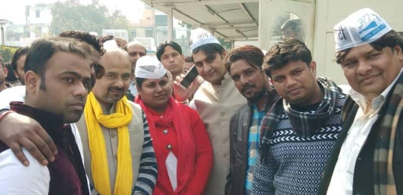 कांग्रेस के कई नेता व कार्यकर्ता हुए आम आदमी पार्टी में शामिल