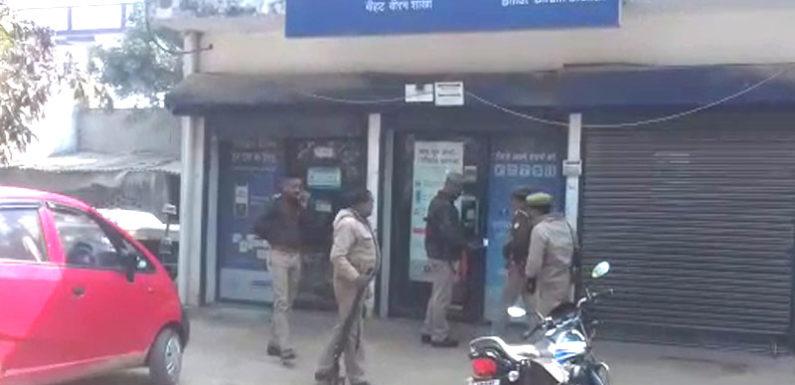 सीतापुर में एच डी एफ सी बैंक एटीएम से चोरों ने उड़ाए 15 लाख