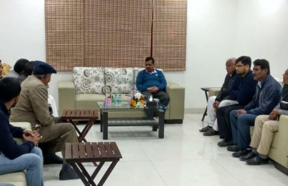 हरियाणा के बाल्मीकि समाज के प्रतिनिधिमंडल ने केजरीवाल से मुलाकात