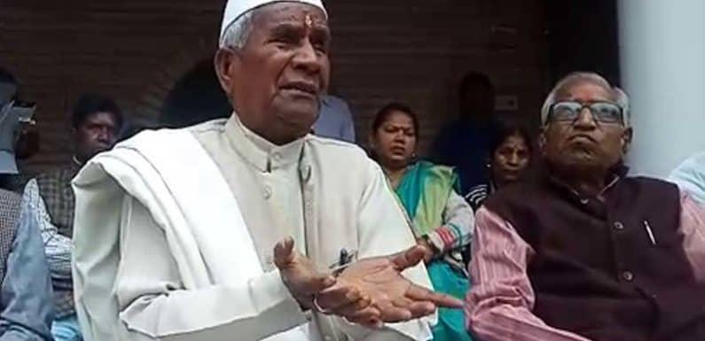 पूर्व गृह राज्य मंत्री भारत सरकार राम लाल राही ने साधा भाजपा पर निशाना
