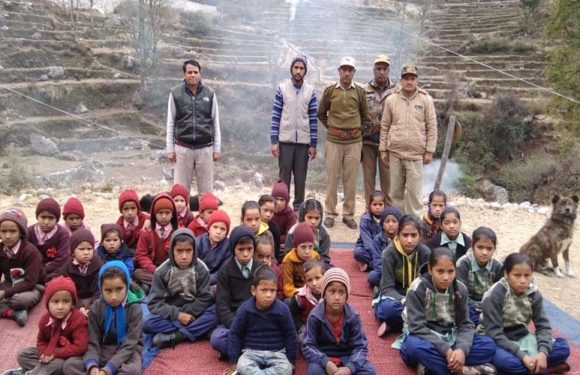 वन अग्नि सुरक्षा अभियान के तहत गोष्ठी का आयोजन