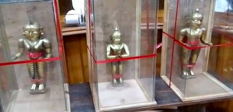 करोड़ो की अष्टधातु मूर्ति चोरी का खुलासा,हिंदू युवा वाहिनी का संयोजक फरार