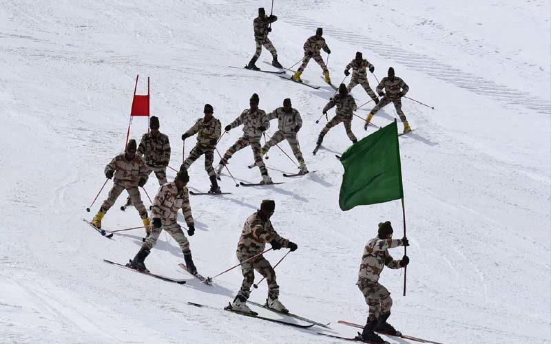 औली में नेशनल नाॅर्डिक एवं एल्पाईन स्कीइंग और स्नो वोर्डिंग प्रतियोगिता शुरु